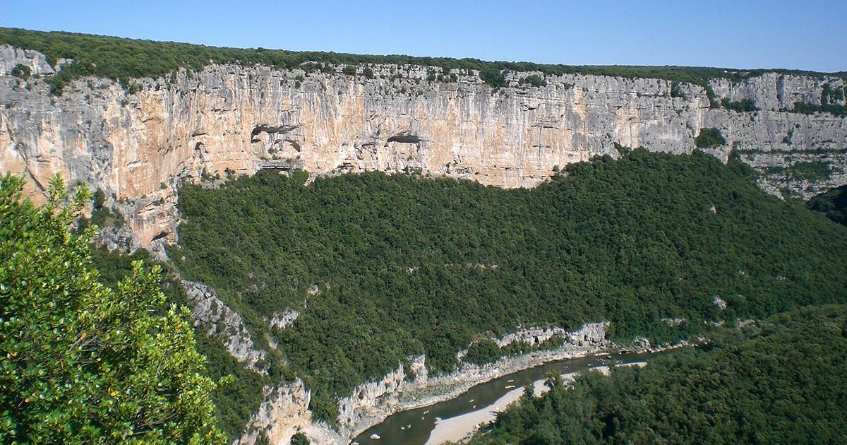 The Ardèche Gorges